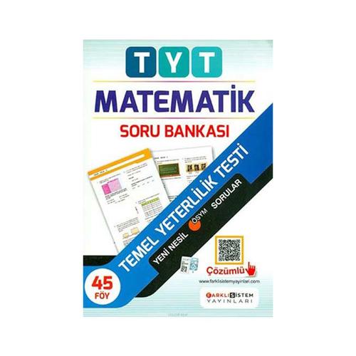 Farklı Sistem Yayınları TYT Matematik Soru Bankası