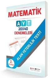 Farklı Sistem Yayınları - Farklı Sistem Yayınları YKS 2. Oturum AYT Matematik 20x40 Denemeleri
