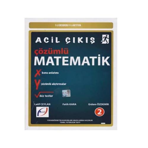 Fasikül Yayınları AYT Acil Çıkış Çözümlü Matematik