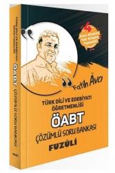 Fatih Avcı - Fatih Avcı 2021 ÖABT Türk Dili ve Edebiyatı Öğretmenliği Fuzuli Soru Bankası