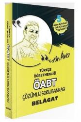 Fatih Avcı - Fatih Avcı 2021 ÖABT Türkçe Öğretmenliği Belagat Soru Bankası Çözümlü