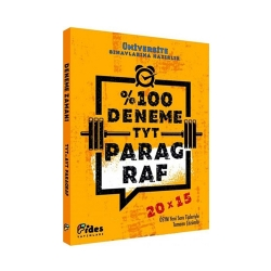 Fides Yayınları - Fides Yayınları TYT Paragraf 20×15 Yüzde Yüz Deneme
