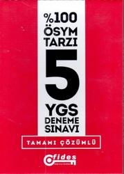 Fides Yayınları - Fides Yayınları YGS Tamamı Çözümlü 5 Deneme Sınavı