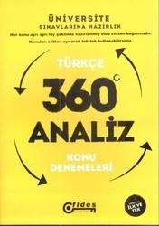 Fides Yayınları - Fides Yayınları YGS Türkçe 360 Derece Analiz Konu Denemeleri