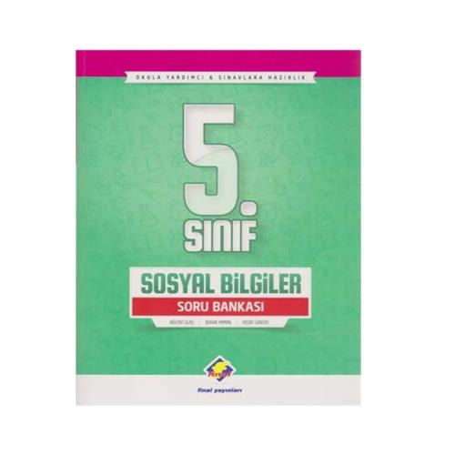 Final Yayınları 5. Sınıf Sosyal Bilgiler Soru Bankası