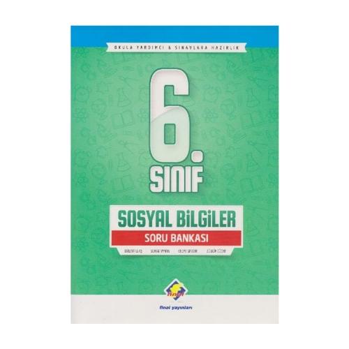 Final Yayınları 6.Sınıf Sosyal Bilgiler Soru Bankası