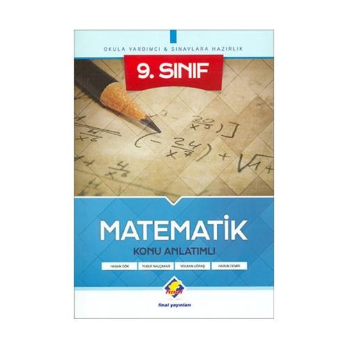 Final Yayınları 9.Sınıf Matematik Konu Anlatımlı