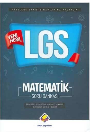 Final Yayınları - Final Yayınları LGS Matematik Soru Bankası