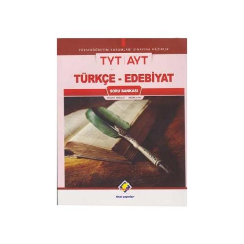Final Yayınları YKS TYT AYT Türkçe-Edebiyat Soru Bankası