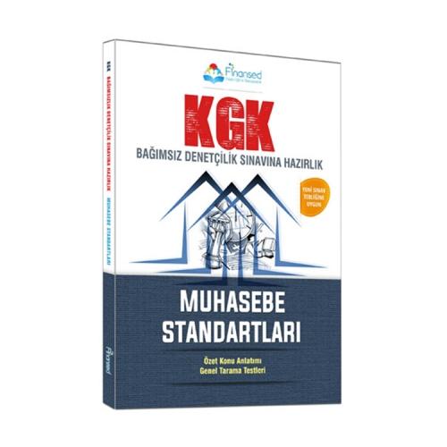 Finansed Yayınları KGK Muhasebe Standartları Hazırlık Kitabı