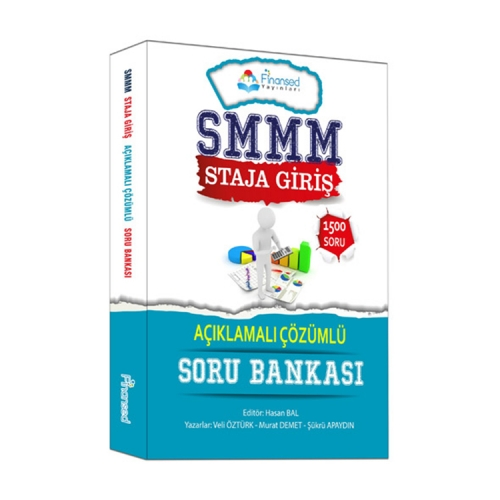 Finansed Yayınları SMMM Staja Giriş Açıklamalı Çözümlü Soru Bankası