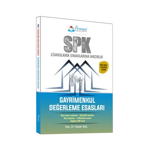 Finansed Yayınları SPK Gayrimenkul Değerleme Esasları