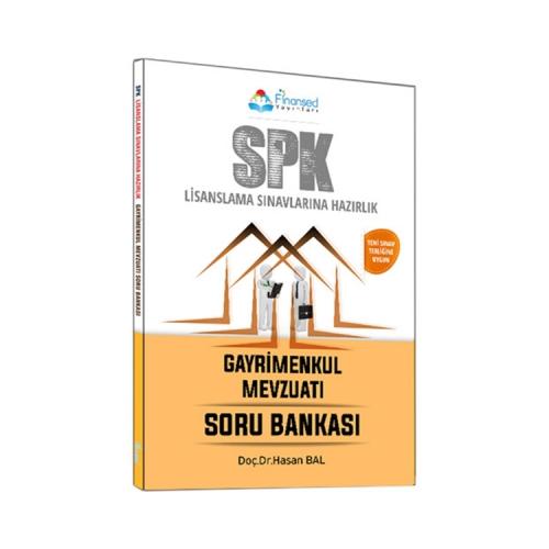 Finansed Yayınları SPK Gayrimenkul Mevzuatı Soru Bankası