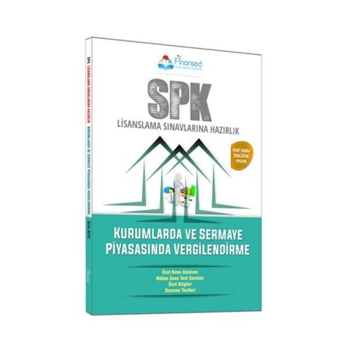 Finansed Yayınları SPK Kurumlarda ve Sermaye Piyasasında Vergilendirme