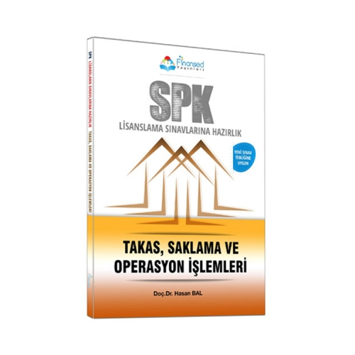 Finansed Yayınları SPK Takas Saklama ve Operasyon İşlemleri