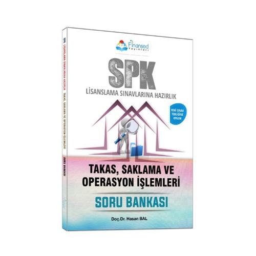 Finansed Yayınları SPK Takas Saklama ve Operasyon İşlemleri Soru Bankası