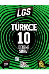 Fix Yayınları - Fix Yayınları 8 .Sınıf LGS Türkçe 10 Denemeleri