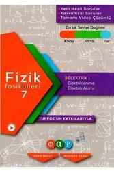 Fiziksel Alan Yayınları - Fiziksel Alan Yayınları Fizik Fasikülleri 7 Elektrik 1