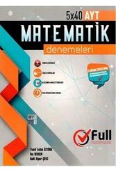 Full Matematik Yayınları - Full Matematik Yayınları AYT Matematik 5×40 Denemeleri