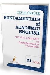 Pelikan Yayıncılık - Pelikan Yayıncılık Fundamentals Of Academic English 30. Baskı