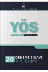 Galata Yayınları - Galata Yayınları YÖS 20 Deneme Sınavı