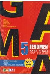 Gama Yayınları - Gama Okul Yayınları 5. Sınıf Fenomen Tüm Dersler Kamp Kitabı