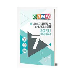 Gama Yayınları - Gama Okul Yayınları 7. Sınıf Din Kültürü ve Ahlak Bilgisi Soru Bankası