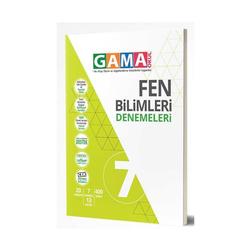 Gama Yayınları - Gama Okul Yayınları 7. Sınıf Fen Bilimleri Denemeleri