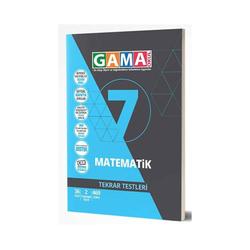 Gama Yayınları - Gama Okul Yayınları 7. Sınıf Matematik Tekrar Testleri