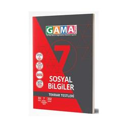 Gama Yayınları - Gama Okul Yayınları 7. Sınıf Sosyal Bilgiler Tekrar Testleri