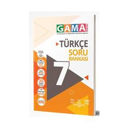 Gama Yayınları - Gama Okul Yayınları 7. Sınıf Türkçe Denemeleri