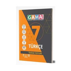 Gama Yayınları - Gama Okul Yayınları 7. Sınıf Türkçe Tekrar Testleri