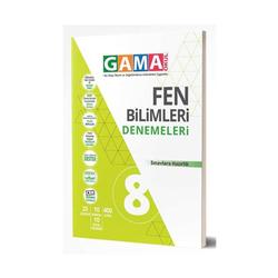 Gama Yayınları - Gama Okul Yayınları 8. Sınıf Fen Bilimleri Denemeleri