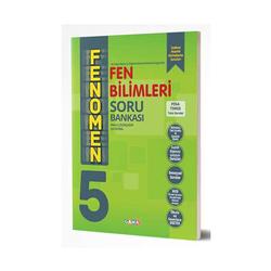 Gama Yayınları - Gama Okul Yayınları FENOMEN 5. Sınıf Fen Bilimleri Soru Bankası