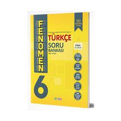 Gama Yayınları - Gama Okul Yayınları FENOMEN 6. Sınıf Türkçe Soru Bankası