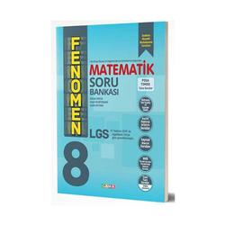 Gama Yayınları - Gama Okul Yayınları FENOMEN 8. Sınıf LGS Matematik Soru Bankası