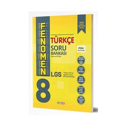 Gama Yayınları - Gama Okul Yayınları FENOMEN 8. Sınıf LGS Türkçe Soru Bankası