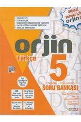 Gama Yayınları - Gama Okul Yayınları ORJİN 5. Sınıf Türkçe Etkinlikli Konu Özetli Soru Bankası