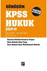 Gazi Kitabevi - Gazi Kitabevi 2020 KPSS Dönüşüm Kamu Hukuku Çalışma Kitabı Cilt 2
