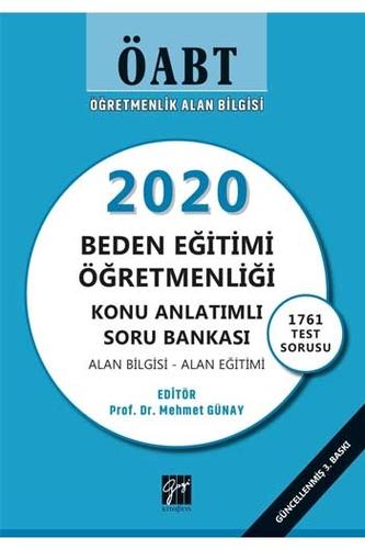 Gazi Kitabevi 2020 ÖABT Beden Eğitimi Öğretmenliği Konu Anlatımlı Soru Bankası