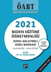 Gazi Kitabevi - Gazi Kitabevi 2021 ÖABT Beden Eğitimi Öğretmenliği Konu Anlatımlı Soru Bankası