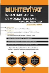 Gazi Kitabevi - Gazi Kitabevi Muhteviyat İnsan Hakları ve Demokratikleşme Konu Anlatım Kitabı