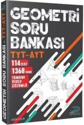Ders Market Yayınları - Geometri TYT - AYT Soru Bankası Tamamı Video Çözmlü