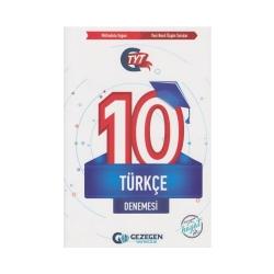 Gezegen Yayıncılık - Gezegen Yayıncılık TYT Türkçe 10 Denemesi
