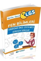 Gezegen Yayıncılık - Gezegen Yayınları LGS Fen Bilimleri Sınavdan Önce Çözülmesi Gereken Sorular