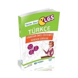 Gezegen Yayıncılık - Gezegen Yayınları LGS Türkçe Sınavdan Önce Çözülmesi Gereken Sorular