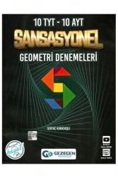Gezegen Yayıncılık - Gezegen Yayınları TYT AYT Geometri Sansasyonel 10+10 Deneme
