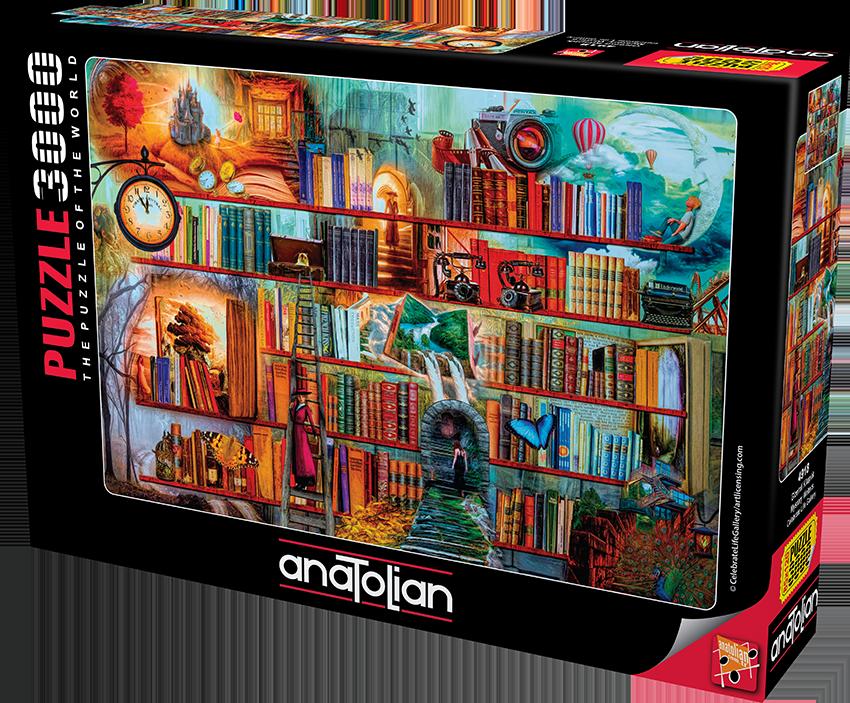 Anatolian - Gizemli Kitaplık/ Mystery Writers