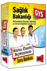 Yargı Yayınları - GYS Sağlık Bakanlığı Konu Özetli Açıklamalı Soru Bankası Yargı Yayınları