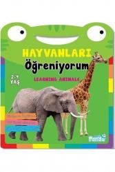 Mavi Panda Yayınları - Hayvanları Öğreniyorum Mavi Panda Yayınları
